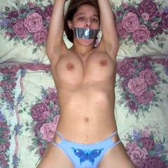 Nipple clamps and bondage and more fun with - Unique Bondage - Pic 12