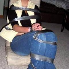 Cute amateur submissives get tied up and - Unique Bondage - Pic 13