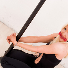 Monica handcuffed and bitt-gagged - Unique Bondage - Pic 5