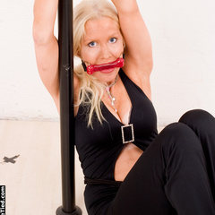 Monica handcuffed and bitt-gagged - Unique Bondage - Pic 9
