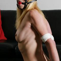 Paulas forced self bondage - B - Unique Bondage - Pic 6