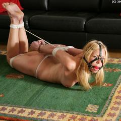 Paulas forced self bondage - B - Unique Bondage - Pic 11