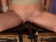 Mackenzee can't stop cumming hard & - Unique Bondage - Pic 3