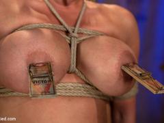 Mackenzee can't stop cumming hard & - Unique Bondage - Pic 7