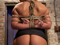 Phoenix Marie takes a major league bound, - Unique Bondage - Pic 1