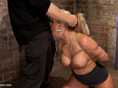 Phoenix Marie takes a major league bound, - Unique Bondage - Pic 4