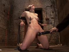 Serena Blair is a local girl next door type - Unique Bondage - Pic 9