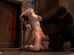 Serena Blair is a local girl next door type - Unique Bondage - Pic 13