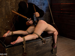 Girl next door bound ass up.  Double - Unique Bondage - Pic 11