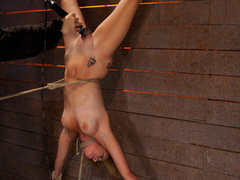 19yr old cutie gets hung up side down, neck - Unique Bondage - Pic 2