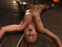 19yr old cutie gets hung up side down, neck - Unique Bondage - Pic 8