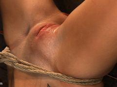 19yr old cutie gets hung up side down, neck - Unique Bondage - Pic 12
