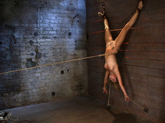 19yr old cutie gets hung up side down, neck - Unique Bondage - Pic 14