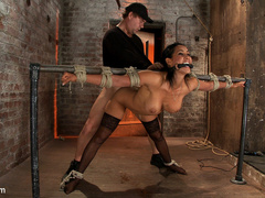 Isis Love gets bound, gagged, flogged, and - Unique Bondage - Pic 6