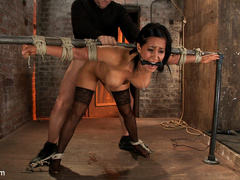 Isis Love gets bound, gagged, flogged, and - Unique Bondage - Pic 15