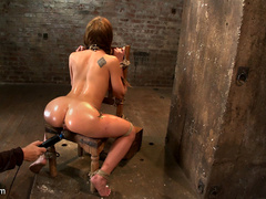 Amy Brooke has her amazing gaping ass fucked - Unique Bondage - Pic 2