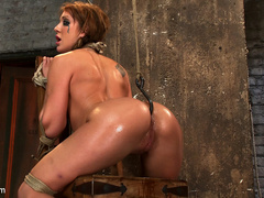 Amy Brooke has her amazing gaping ass fucked - Unique Bondage - Pic 11