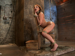 Amy Brooke has her amazing gaping ass fucked - Unique Bondage - Pic 12