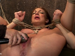 Amy Brooke is brutally orgasmed to near - Unique Bondage - Pic 5