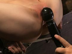 Tiny Sensi Pearl is bound for a fucking. - Unique Bondage - Pic 4