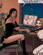 Bdsm comics. ..But we know how to handle troublemakers don't we slave?