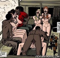 Bondage comics. Fuck me back, you stupid girl.