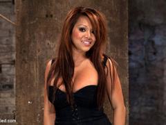 Hot Flexible Asian with big tits, has her - Unique Bondage - Pic 2