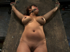 Hot Flexible Asian with big tits, has her - Unique Bondage - Pic 5