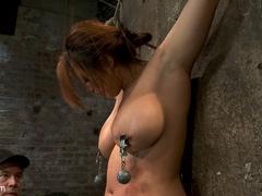 Hot Flexible Asian with big tits, has her - Unique Bondage - Pic 8