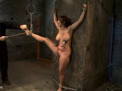 Hot Flexible Asian with big tits, has her - Unique Bondage - Pic 11