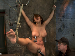 Hot Flexible Asian with big tits, has her - Unique Bondage - Pic 12