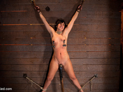Wrist suspension while impaled. Each orgasms - Unique Bondage - Pic 11