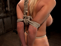 Blake Rose cums to Hogtied, we found this - Unique Bondage - Pic 2