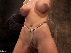 Blake Rose cums to Hogtied, we found this - Unique Bondage - Pic 8