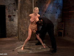 Blake Rose cums to Hogtied, we found this - Unique Bondage - Pic 13
