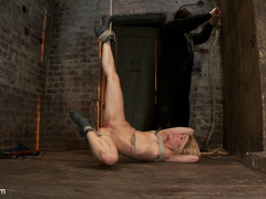 Hot 22yr old blond finally get bound right! - Unique Bondage - Pic 11