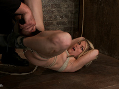 Hot 22yr old blond finally get bound right! - Unique Bondage - Pic 12