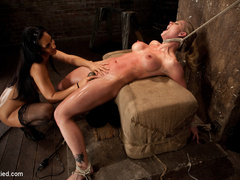 Holly gets some Isis time. We oil up Holly - Unique Bondage - Pic 7
