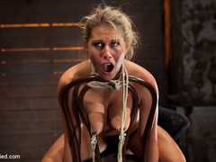 Smoking hot blond with huge tits, a perfect - Unique Bondage - Pic 6