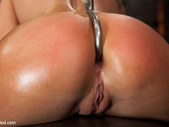 Smoking hot blond with huge tits, a perfect - Unique Bondage - Pic 8