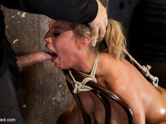 Smoking hot blond with huge tits, a perfect - Unique Bondage - Pic 10
