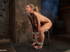 Smoking hot blond with huge tits, a perfect - Unique Bondage - Pic 13