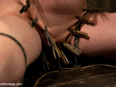 Cherry torn gets her skull fucked, - Unique Bondage - Pic 1