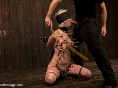 Cherry torn gets her skull fucked, - Unique Bondage - Pic 2