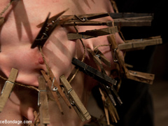 Cherry torn gets her skull fucked, - Unique Bondage - Pic 6
