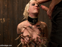 Cherry torn gets her skull fucked, - Unique Bondage - Pic 7