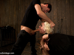 Cherry torn gets her skull fucked, - Unique Bondage - Pic 8