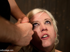 Cherry torn gets her skull fucked, - Unique Bondage - Pic 10