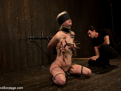 Cherry torn gets her skull fucked, - Unique Bondage - Pic 14
