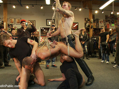 Jessie Colter gets gang banged at Mr S - Unique Bondage - Pic 7